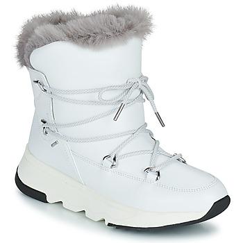 Cipők Női Hótaposók Geox FALENA ABX Fehér