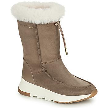 Cipők Női Hótaposók Geox FALENA ABX Bézs