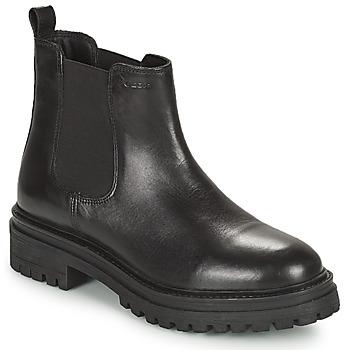 Cipők Női Csizmák Geox IRIDEA Fekete
