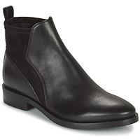 Cipők Női Csizmák Geox DONNA BROGUE Fekete