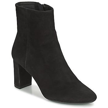 Cipők Női Bokacsizmák Geox PHEBY 80 Fekete