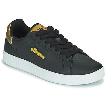 Cipők Női Rövid szárú edzőcipők Ellesse CAMPO Fekete