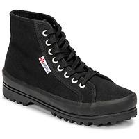 Cipők Női Magas szárú edzőcipők Superga 2341 ALPINA COTU Fekete