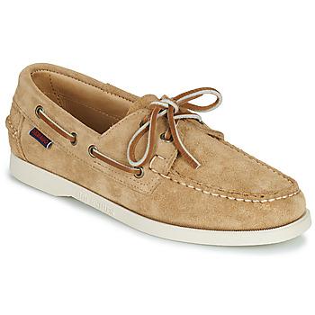 Cipők Női Vitorlás cipők Sebago PORTLAND FLESH OUT W Bézs