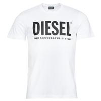 Ruhák Férfi Rövid ujjú pólók Diesel T-DIEGOS-ECOLOGO Fehér