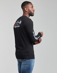 Ruhák Férfi Hosszú ujjú pólók Diesel T-DIEGOS-LS-K25 Fekete