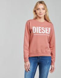 Ruhák Női Pulóverek Diesel F-ANGS-ECOLOGO Rózsaszín