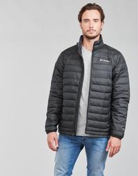 Ruhák Férfi Steppelt kabátok Columbia POWDER LITE JACKET Fekete