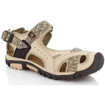 Cipők Női Sportszandálok Kimberfeel ATTICA Beige