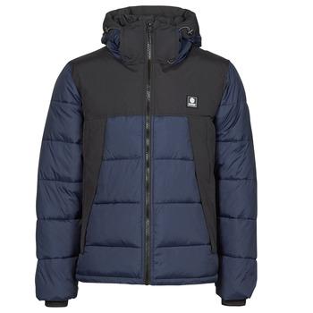 Ruhák Férfi Steppelt kabátok Element DULCEY PUFF CONTRASTED Kék