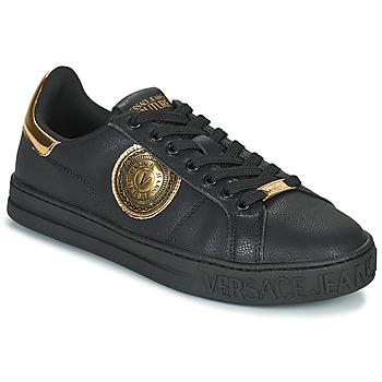 Cipők Férfi Rövid szárú edzőcipők Versace Jeans Couture  Fekete