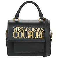 Táskák Női Kézitáskák Versace Jeans Couture FEBALO Fekete
