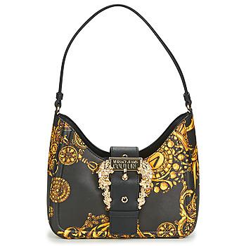 Táskák Női Válltáskák Versace Jeans Couture METARIA Fekete  / Nyomtatott / Barokk