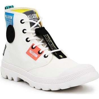 Cipők Magas szárú edzőcipők Palladium Manufacture Lite OVB Neon U 77082-116 biały
