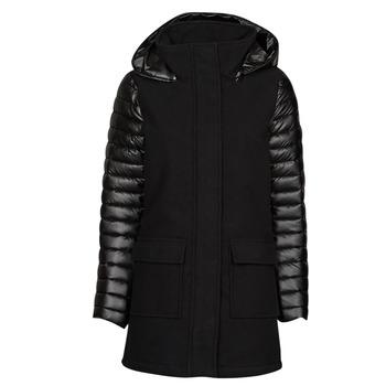 Ruhák Női Parka kabátok Les Petites Bombes ABBY Fekete