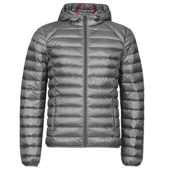 Ruhák Férfi Steppelt kabátok JOTT NICO Antracit / Piros