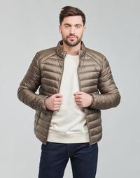 Ruhák Férfi Steppelt kabátok JOTT MAT Tópszínű / Narancssárga