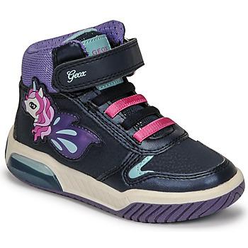 Cipők Lány Magas szárú edzőcipők Geox INEK Lila