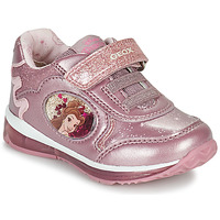 Cipők Lány Rövid szárú edzőcipők Geox TODO Rózsaszín