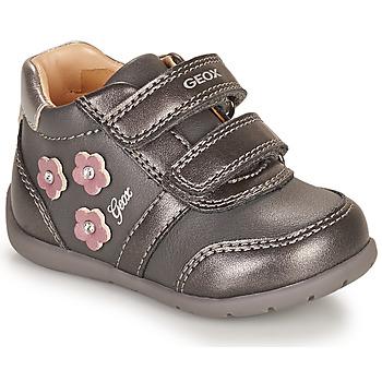 Cipők Lány Rövid szárú edzőcipők Geox ELTHAN Szürke