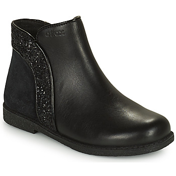 Cipők Lány Csizmák Geox SHAWNTEL Fekete