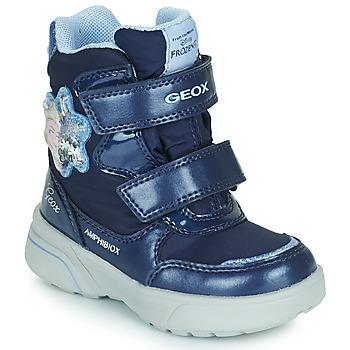 Cipők Lány Hótaposók Geox SVEGGEN ABX Tengerész