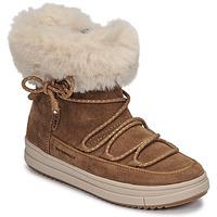 Cipők Lány Csizmák Geox REBECCA WPF Teve