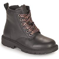 Cipők Lány Csizmák Geox SHAYLAX Fekete