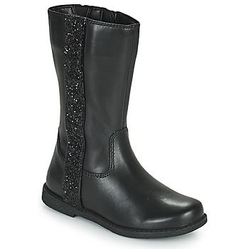 Cipők Lány Városi csizmák Geox SHAWNTEL Fekete