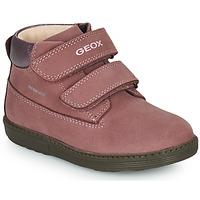 Cipők Lány Csizmák Geox HYNDE WPF Rózsaszín