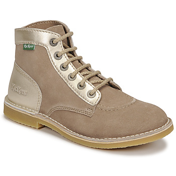 Cipők Női Csizmák Kickers ORILEGEND Bézs