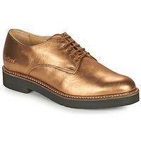 Cipők Női Oxford cipők Kickers OXFORK Bronz
