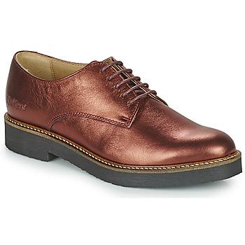 Cipők Női Oxford cipők Kickers OXFORK Lila