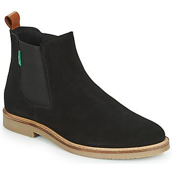 Cipők Női Csizmák Kickers TYGA Fekete