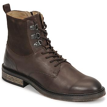 Cipők Női Csizmák Kickers ALPHAHOOK Barna