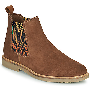 Cipők Női Csizmák Kickers TYGA Teve
