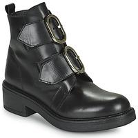 Cipők Női Bokacsizmák Myma TELLA Fekete