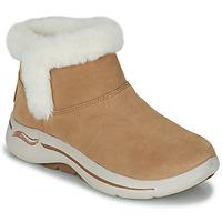 Cipők Női Csizmák Skechers GO WALK ARCH FIT Barna
