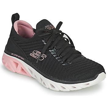 Cipők Női Rövid szárú edzőcipők Skechers GLIDE-STEP SPORT Fekete  / Rózsaszín