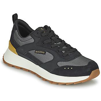 Cipők Női Rövid szárú edzőcipők Skechers SUNNY STREET Fekete