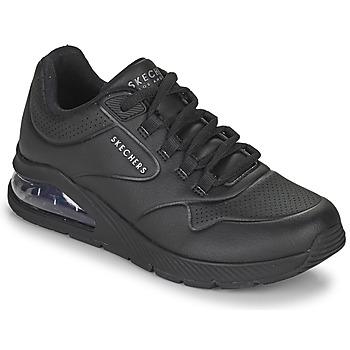 Cipők Női Rövid szárú edzőcipők Skechers UNO 2 Fekete