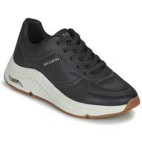 Cipők Női Rövid szárú edzőcipők Skechers ARCH FIT S-MILES Fekete