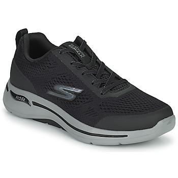 Cipők Férfi Rövid szárú edzőcipők Skechers GO WALK ARCH FIT Fekete