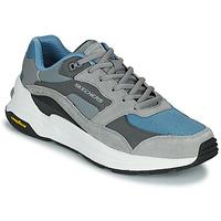 Cipők Férfi Rövid szárú edzőcipők Skechers GLOBAL JOGGER Szürke / Kék
