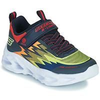 Cipők Fiú Rövid szárú edzőcipők Skechers VORTEX-FLASH Kék / Narancssárga