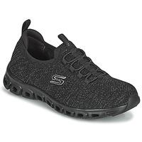 Cipők Női Rövid szárú edzőcipők Skechers GLIDE-STEP Fekete