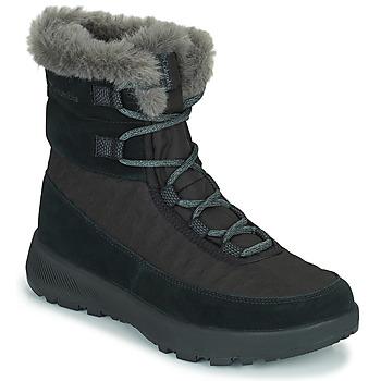 Cipők Női Hótaposók Columbia SLOPESIDE PEAK LUXE Fekete