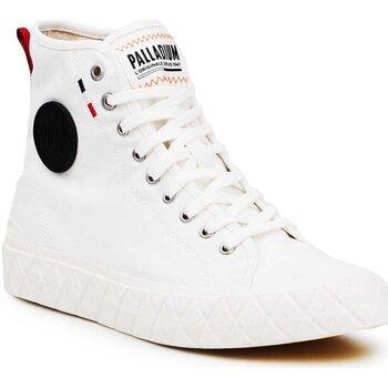 Cipők Magas szárú edzőcipők Palladium Ace CVS MID U 77015-116 kremowe