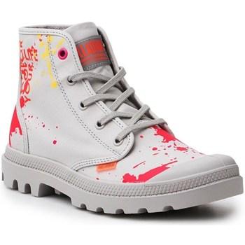 Cipők Női Magas szárú edzőcipők Palladium Manufacture Pampa HI Explore Vegan