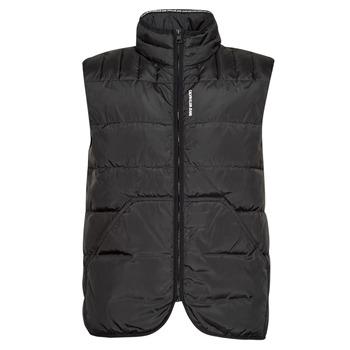 Ruhák Férfi Steppelt kabátok Calvin Klein Jeans PADDED VEST Fekete
